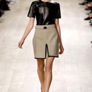 Celine Linen Skirt (Phoebe Philo Era) 36